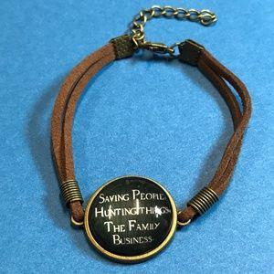 Jewelry - Supernatural Saving People Hunting Things Bracelet